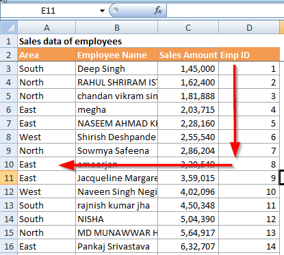 Vlookup to the left: 3 ways to lookup left in excel